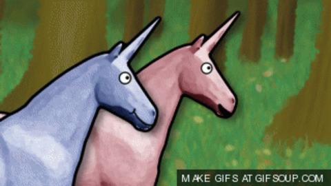Unicorn Charlie Gif
