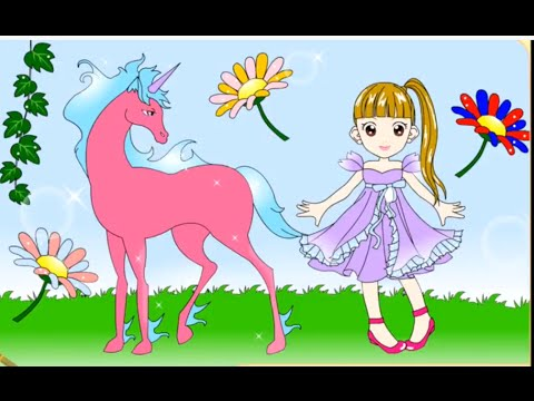 Unicorn Coloring  Coloring Games For Kids