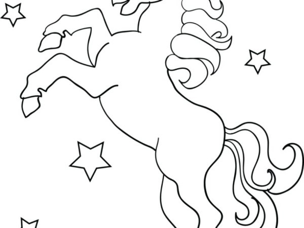 Unicorn Coloring Games Contemporary Design Printable Pages