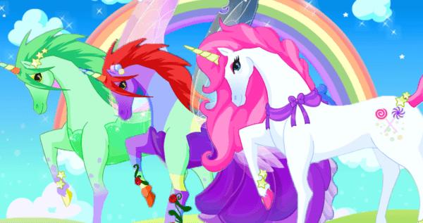 Скачать Unicorn Dress Up