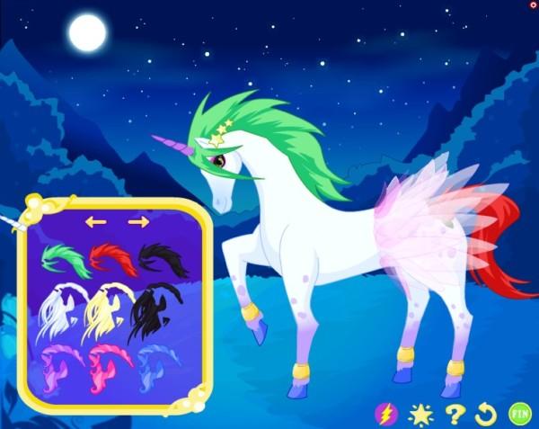 Unicorn Dress Up Game