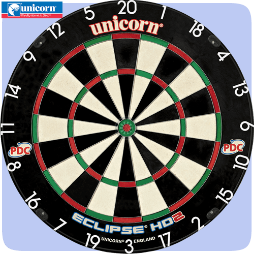 Unicorn Eclipse Hd 2 Dartboard Darts Corner
