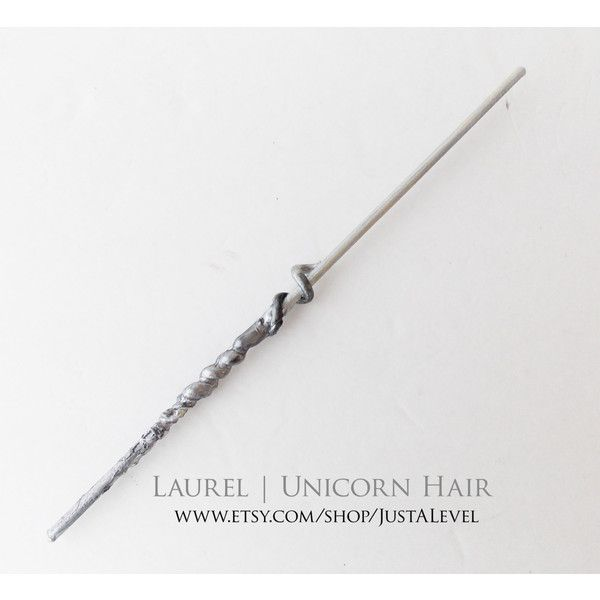 Unicorn Hair Harry Potter Inspired Wand (gryffindor) ❤ Liked On