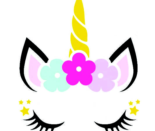 Unicorn Horn And Lashes – Free Svg Files