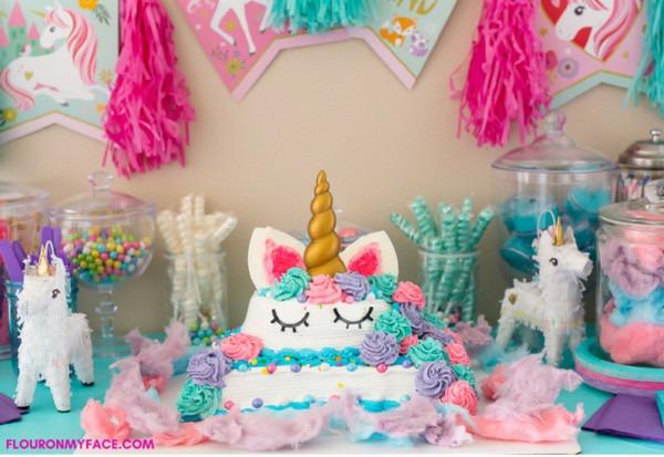 Unicorn Ice Cream Cake  Icecreamcakebreak