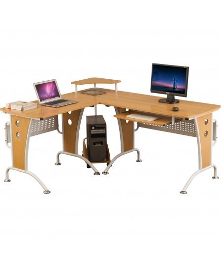 Unicorn Large Reversible Oak Effect Corner Desk