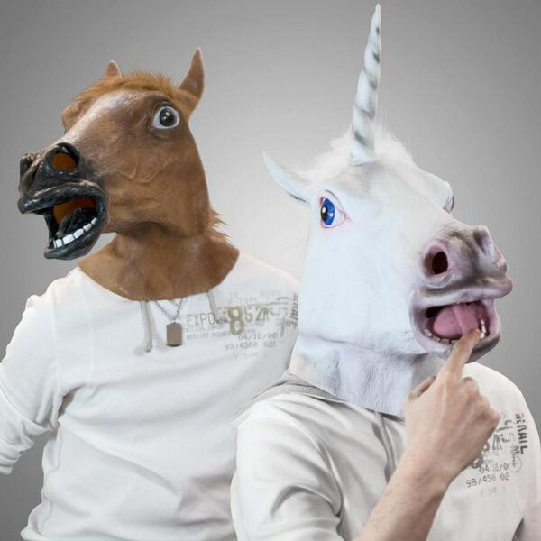 Unicorn Mask Horse