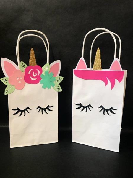 Unicorn Birthday Bags