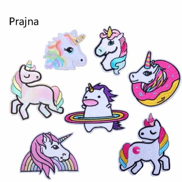 Unicorn Patch 3d Sticker Logo Patch Iron Patches For Clothing
