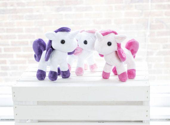 Unicorn Plush Sewing Pattern Stuffed Animal Pattern Plushie