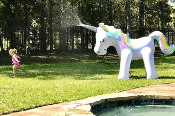 Summer Magic  Ginormous Unicorn Sprinkler