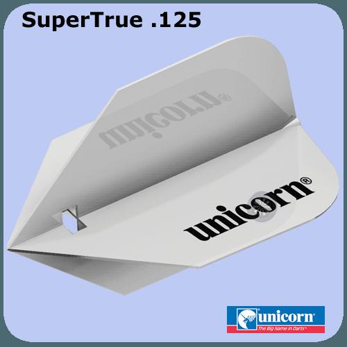 Unicorn Supertrue 125 Micron Durable Polymer Dart Flights Darts