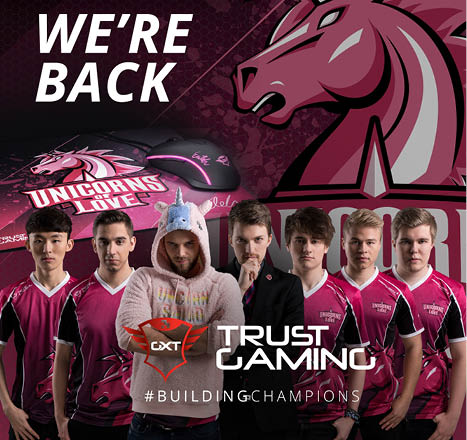 Unicorns Of Love And Trust Gaming Extend Collaboration