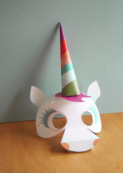 Unique Unicorn Mask