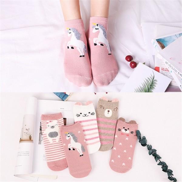 Unisex Children Boy&girls Chaussettes 3d Printed Unicorn Socks
