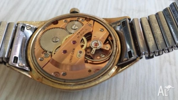 Watch Unicorn Rolled Gold 17 Jewels For Sale In Cabramatta, New