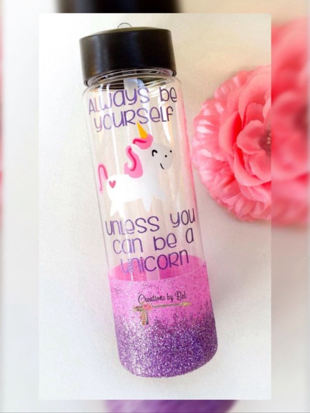 Water Bottles Always Be Yourself Unless You Can Be A Unicorn Water