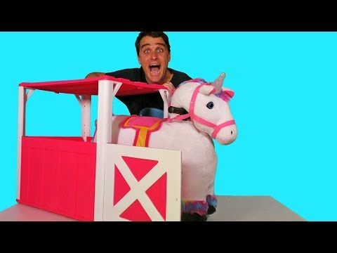 Willow The Electric Ride On Unicorn !