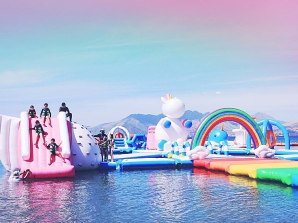 You Can Now Travel To A Massive Inflatable Unicorn Island