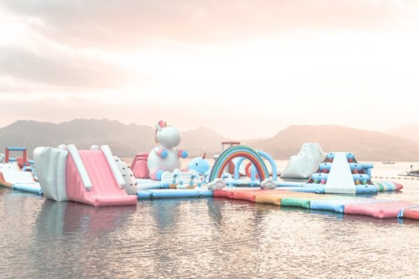 You'll Want To Take Your Next Vacation On The Floating Unicorn