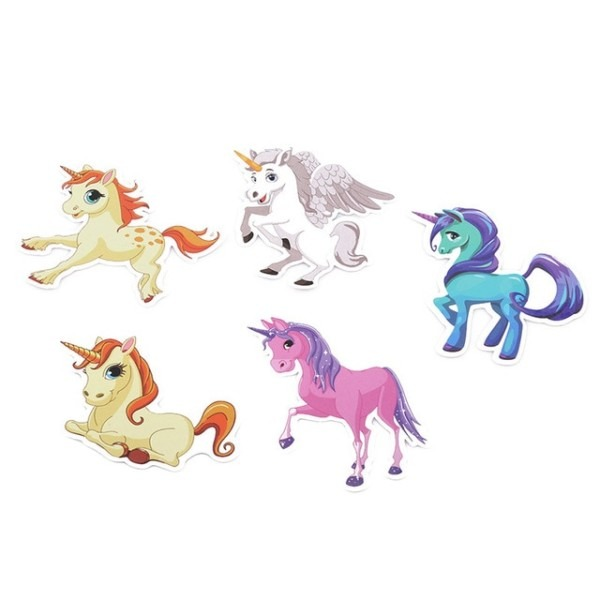 30 Pcs Colorful Cute Unicorn Stickers For Laptop Car Styling Phone