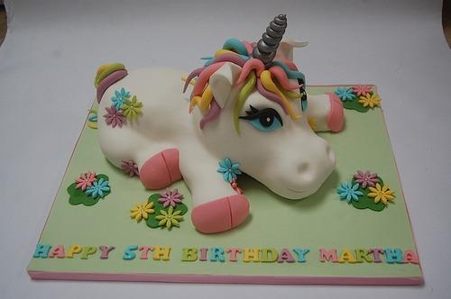 3d Baby Unicorn Cake