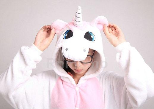Adult Onepiece Pajamas Unicorn Onepiece Pajamas For Women Girls