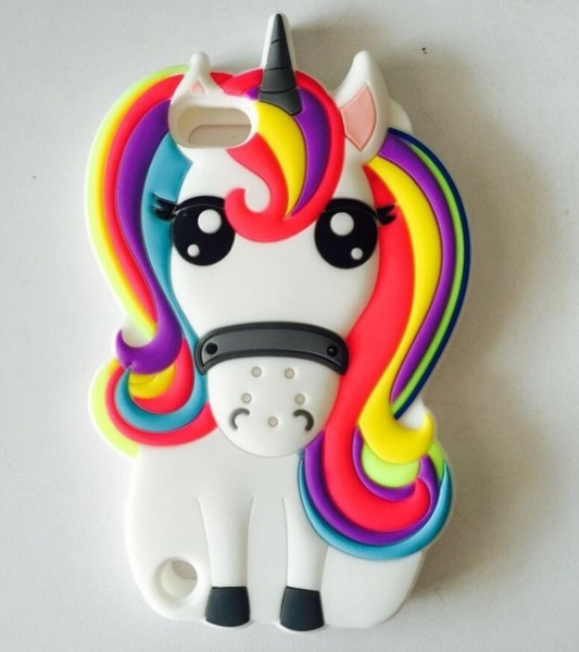 Aipuwei 3d Cartoon Unicorn Soft Silicone Case For Apple Ipod Touch