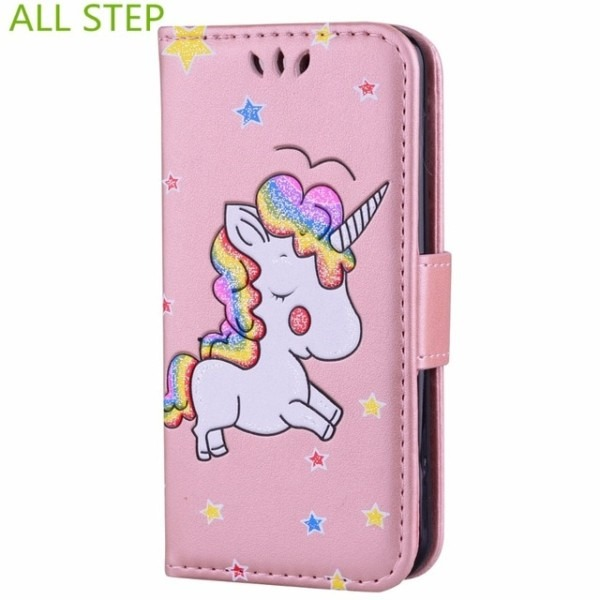 All Step Leather Flip Wallet Case For Ipod Touch 5 Magnetic Card