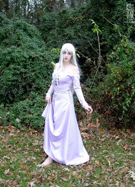 Amalthea From The Last Unicorn Costume Tutorial @ Kelldar Com