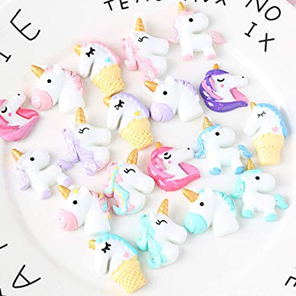 Amazon Com  40 Pcs Unicorn Slime Charms For Craft Making, Fineder