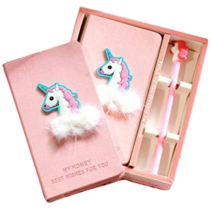 Amazon Com   Funkeet Unicorn Notebook Set Journal Gel Pen Set
