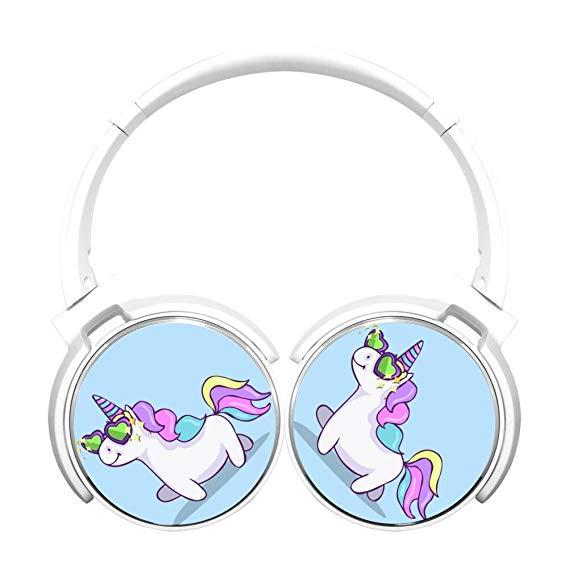 Amazon Com  Asioli New Style Funny Unicorn Bluetooth Headset Hifi
