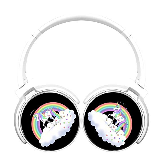 Amazon Com  Asioli Rainbow Unicorn Bluetooth Headphones,hifi