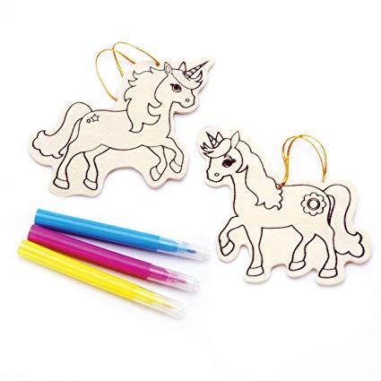 Amazon Com  Bulk Buy  Darice Crafts For Kids Wood Ornament Kit