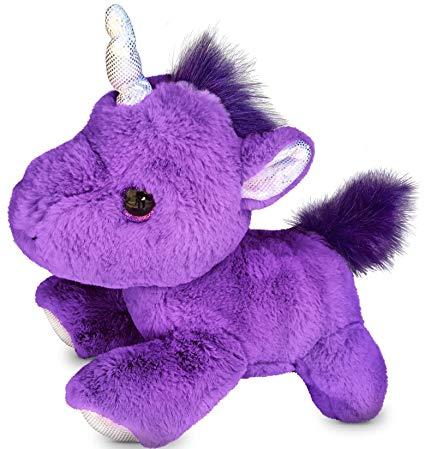 Amazon Com  Checkered Fun Unicorn Stuffed Animal