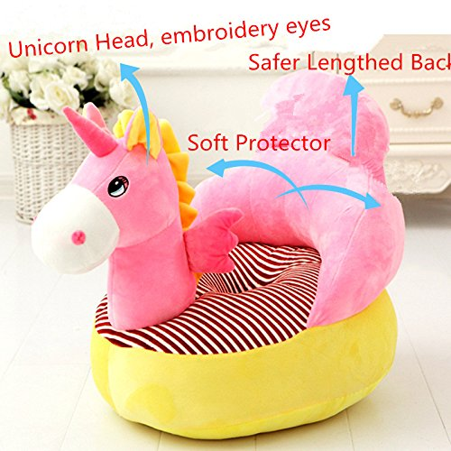 Amazon Com  Children Chair Stuffed Unicorn Plush Chair Soft Cozy