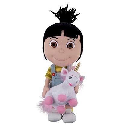Amazon Com  Despicable Me Agnes Holding Unicorn Plush  Toys & Games