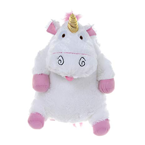 Amazon Com  Despicable Me Backpack Fluffy Unicorn Plush