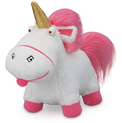 Amazon Com  Despicable Me Fluffy Unicorn 5  Plush  Toys & Games