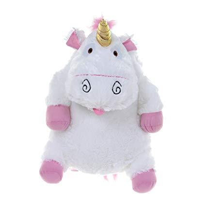 Amazon Com  Dm3 Despicable Me Fluffy Unicorn Plush Backpack