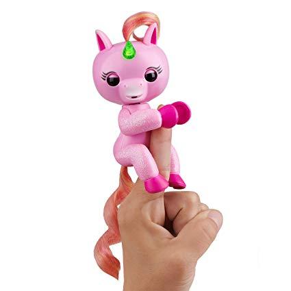 Amazon Com  Fingerlings Light Up Unicorn