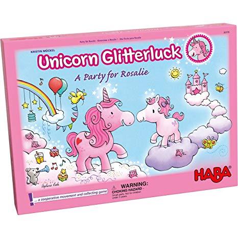 Amazon Com  Haba Unicorn Glitterluck