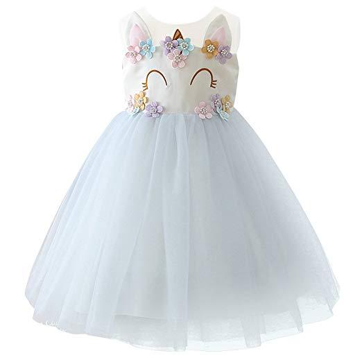 Amazon Com  Ibtom Castle Baby Girls Flower Mythical Costume