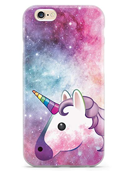 Amazon Com  Inspired Cases Space Unicorn Emoji Case For Iphone 6