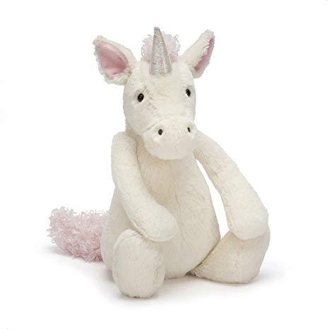 Amazon Com  Jellycat Bashful Unicorn Large  Toys & Games
