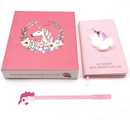 Amazon Com  Kasu Unicorn Gifts For Girls, Cute Unicorn Stationery