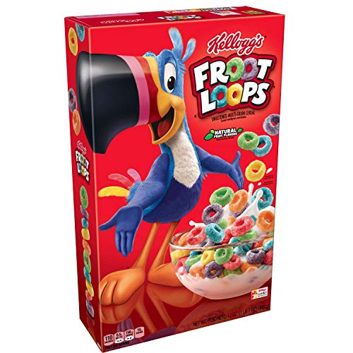 Amazon Com  Kellogg's Froot Loops, Breakfast Cereal, Original