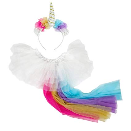 Amazon Com  Madam Posy Design Girls Unicorn Horn Headband Dress Up