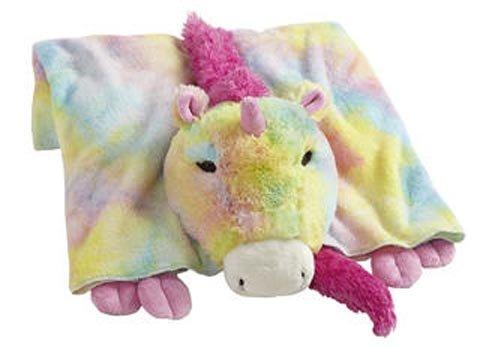 Amazon Com  My Pillow Pets Premium Rainbow Unicorn Blanket  Home